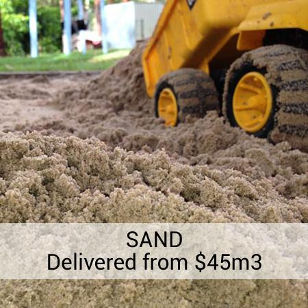 Gold Coast Soils and Landscape Supplies Delivered at Wholesale Prices - Sand Gravel Mulch Crusher Dust Garden Soil and More