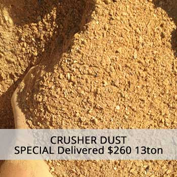 crusher dust delivery